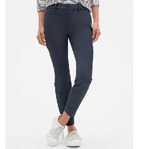 NWT Gap Signature Skinny Ankle Khakis 14 Blue c745